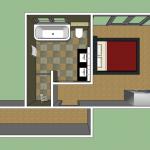 echtenerbrug bad-slaapkamer
