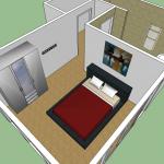 echtenerbrug slaapkamer 2D